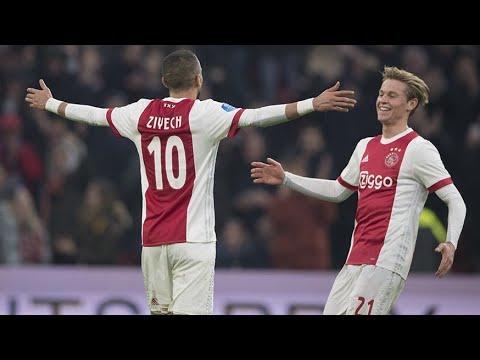 Afc Ajax - All Eredivisie goals 2018/19 (first half)