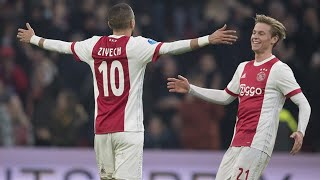 Afc Ajax - All Eredivisie goals 2018/19 (first half)