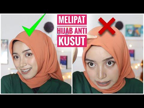 Cara Memakai Hijab Segitiga Untuk Sekolah