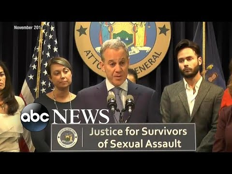 New York Attorney General Eric Schneiderman resigns after report he abused four women