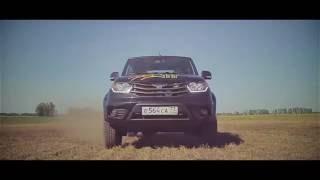 UAZ Pickup.  Тест-драйв в полевых условиях . новый УАЗ Пикап в деле