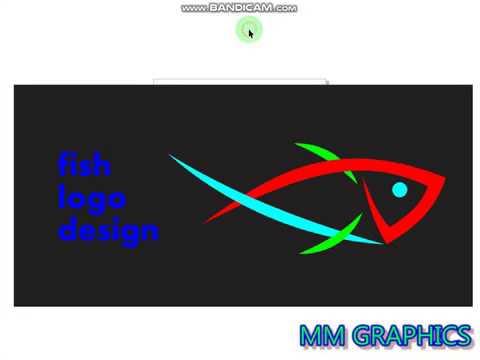 coreldraw professional fish logo design tutorial.......