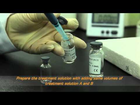 Goldstream Fungus 1-3-beta-d Glucan test kit operation