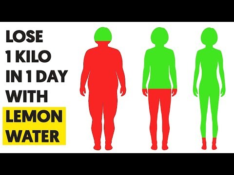 How to Lose 1KG in 1 Day With Lemon Water!