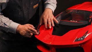 3d프린터 페라리 콘셉트카 F430  (1: 4 스케일카) 제작