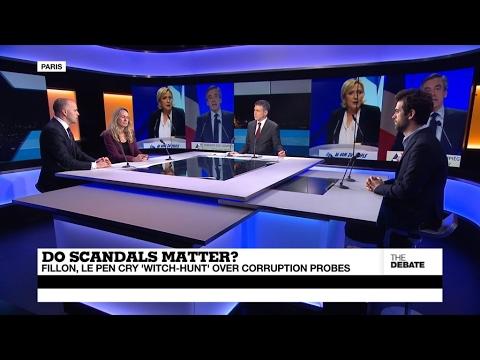 "Do scandals matter? Fillon, Le Pen cry 'witch-hunt"" over corruption probes (part 2)"