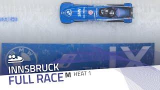 Innsbruck | BMW IBSF World Cup 2020/2021 - 2-Man Bobsleigh Race 1 (Heat 1) | IBSF Official