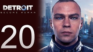 Detroit: Become Human playthrough pt20 - The Great Escape!/The Search Begins
