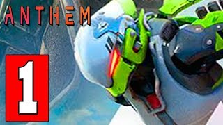 ANTHEM (Interceptor Class) Walkthrough Gameplay Part 1 - FULL GAME Prologue  Lets Play Playthrough