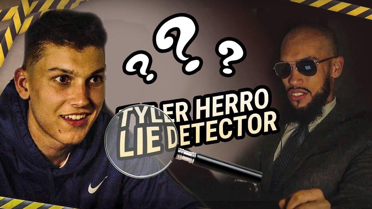 Tyler Herro SLIDES INTO DMs!? Lie Detector Test Reveals EVERYTHING ????