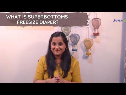 WHAT IS SUPERBOTTOMS FREESIZE DIAPER?