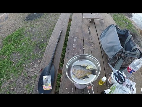 Bluegill Fishing And Noodles, Catch, Clean, Cook, Shore Lunch