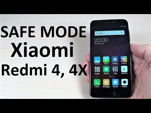 SAFE MODE Xiaomi Redmi 4, 4X