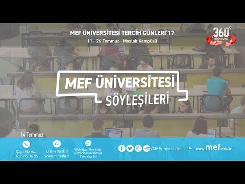 MEF Üniversitesi Tanıtım Günleri - Prof. Dr. Mehmet Demirhan (Tıp) (14.07.2017)