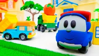 Машинки и Грузовичок Лева: развивающее видео для мальчиков