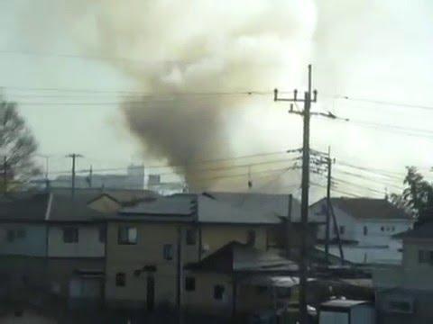 先ほどひたちなか市で火事ですposted by Eminenzz0