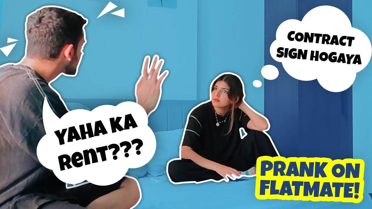 FOUND A NEW FLATMATE PRANK ON MY FLATMATE!! 🤣   Ashi Khanna