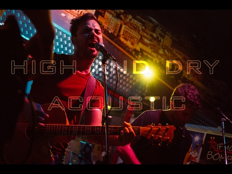 Radiohead - High and dry (Žiga Rustja cover) Official video