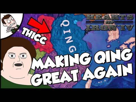 Trying to Make the Qing Empire Great Again Hearts of Iron 4 HOI4 Kaiserreich Mod