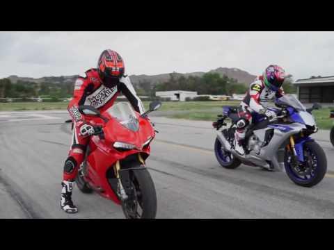 Yamaha R1 Vs BMW S1000RR Vs Ducati 1299 Panigale.