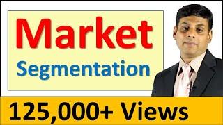 12. Market Segmentation - Marketing Video Lecture by Prof. Vijay Prakash Anand