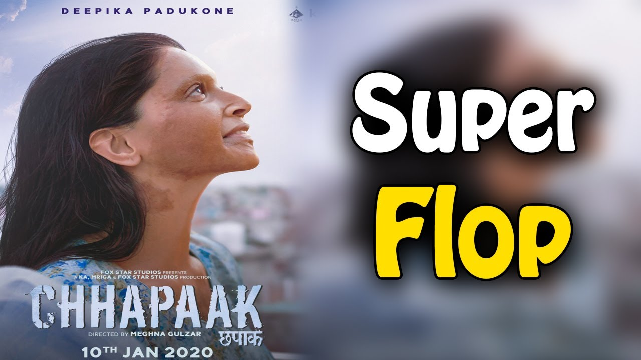 Chhapaak Flop On Box Office In One Week   Chapak Box ...
