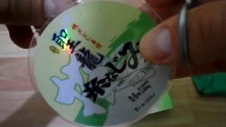 Unboxing №10 - Рыболовная леска из Китая!  Дёшево и сердито;)(, 2017-02-09T15:00:01.000Z)
