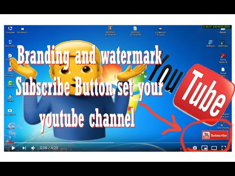 How Subscribe Button Set Your Youtube Channel 2020 Bangla Tips