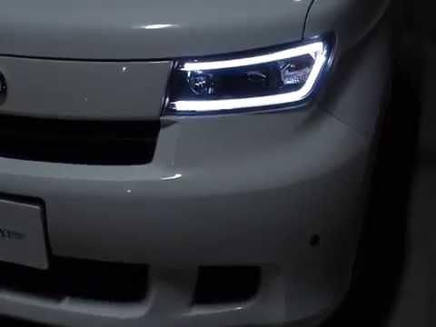 クリスタルアイ QNC bB LEDライトバープロジェクターヘッドライト , YouTube