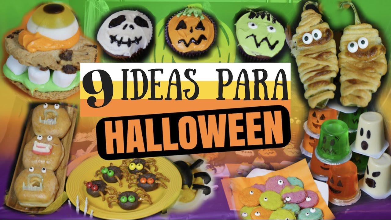 9 ideas para tu fiesta de halloween snacks mi cocina rpida