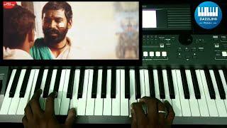 Kannazhagu Rathiname Song| Keyboard Cover/Tutorial | Dhanush | Asuran | GVPrakash | Dazzlingmelodies