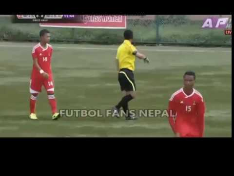 Nepal VS India  ▶ SAFF U15 2017 ▶ 1st Half