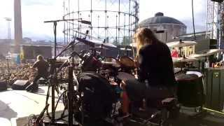 Pearl Artist Jaska Raatikainen Drum Cam - Hate Crew Deathroll @ Tuska, Helsinki Finland 27.6.2014