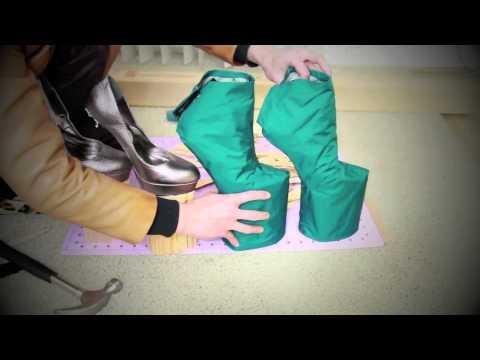 Как сделать туфли ЛЕДИ ГАГИ своими руками?