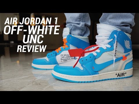 OFF WHITE AIR JORDAN 1 UNC REVIEW