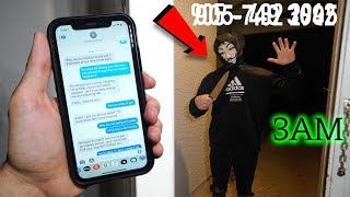 DO NOT TEXT YOUR NUMBER NEIGHBOUR AT 3AM! (YOU WON'T BELIEVE THIS)