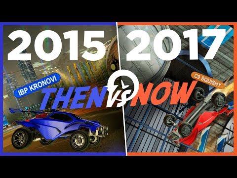 Then vs Now: The Evolution of Rocket League | SCORING
