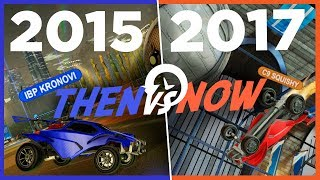 Then vs Now: The Evolution of Rocket League | SCORING