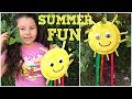Summer Craft for Kids - First Day of Summer