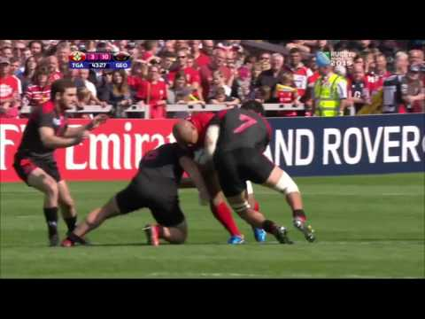 Georgia vs Tonga RWC 2015