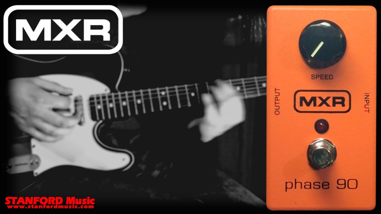 mxr phase 90 guitar pedal demo a classic phaser pedal from