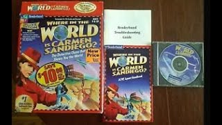 Where in the World is Carmen Sandiego? PC Full Run (Part 1)