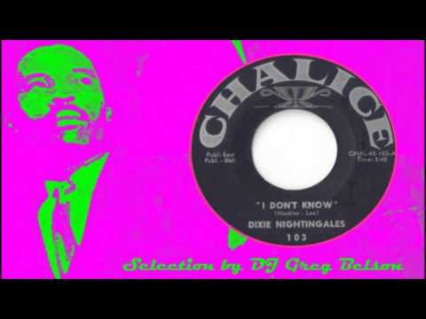 Gospel Northern Soul 45 - Dixie Nightingales - 'I don't know'