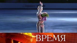 14-летняя Александра Трусова стала чемпионкой мира среди юниоров и вошла в историю фигурного катания