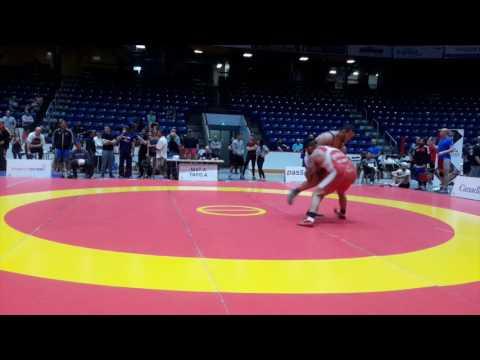 2016 Canada Cup: 125 kg Amar Desi (CAN) vs. Nolan Terrance (CAN)