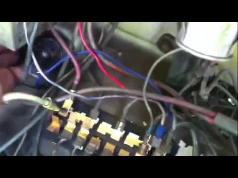vw bug starter wiring 1965 vw beetle ignition switch to starter woes youtube vw bug starter solenoid wiring 1965 vw beetle ignition switch to