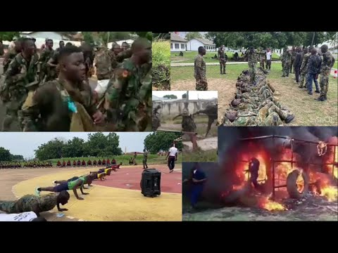 Ghana  Military- Watch this if you want to join the Ghana Military ,just be calm