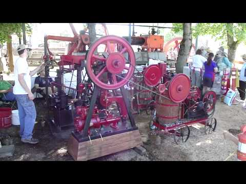 Steam Powered Ice Cream Maker