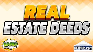 4 Basic Types Of Real Estate Deeds