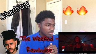 The Weeknd - Reminder - reaction